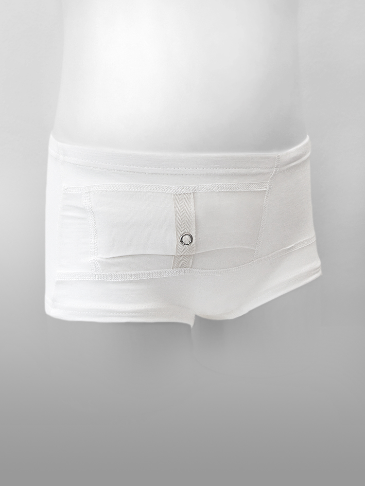 Kids Unisex Briefs White