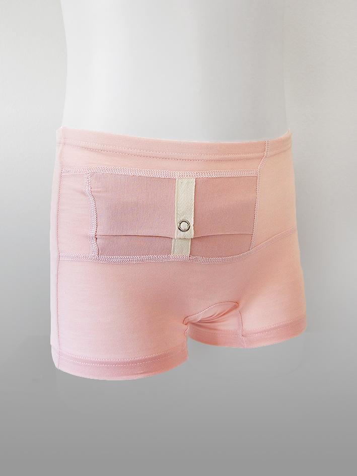 Kids Unisex Shorts Pink