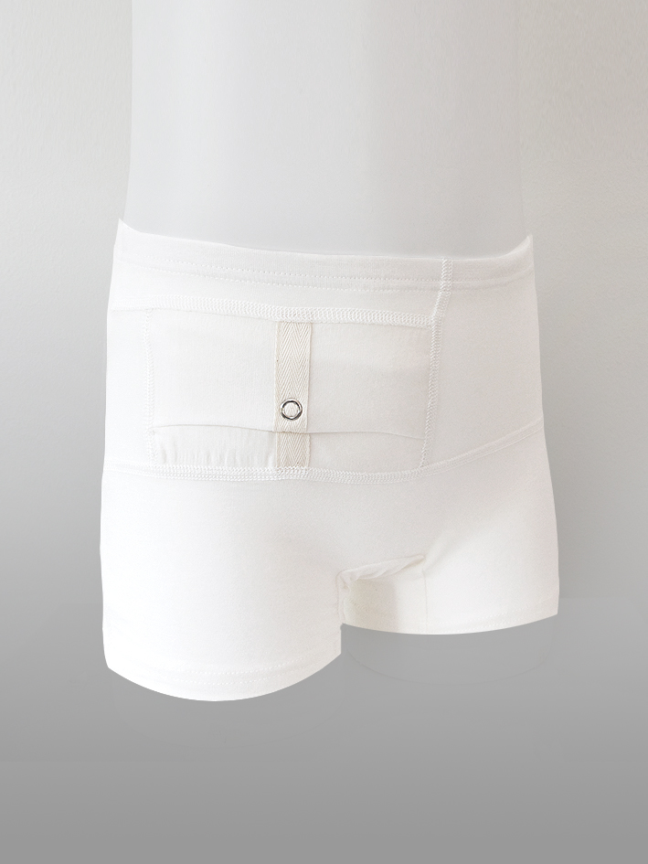 Kids Unisex Shorts White