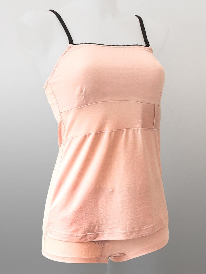 Women Singlet Pink