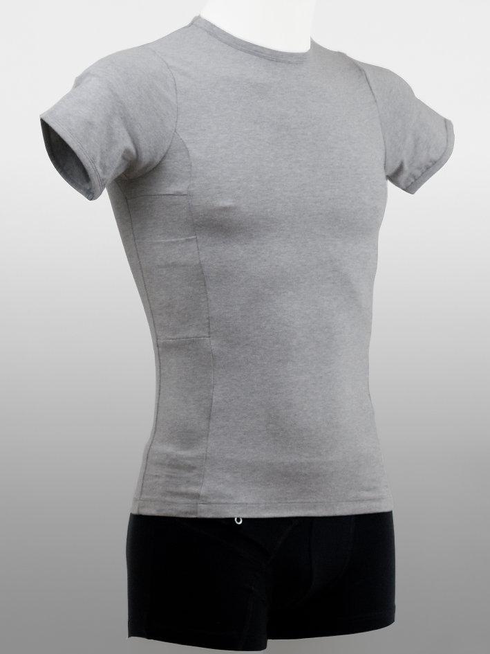 Man T-shirt Grå