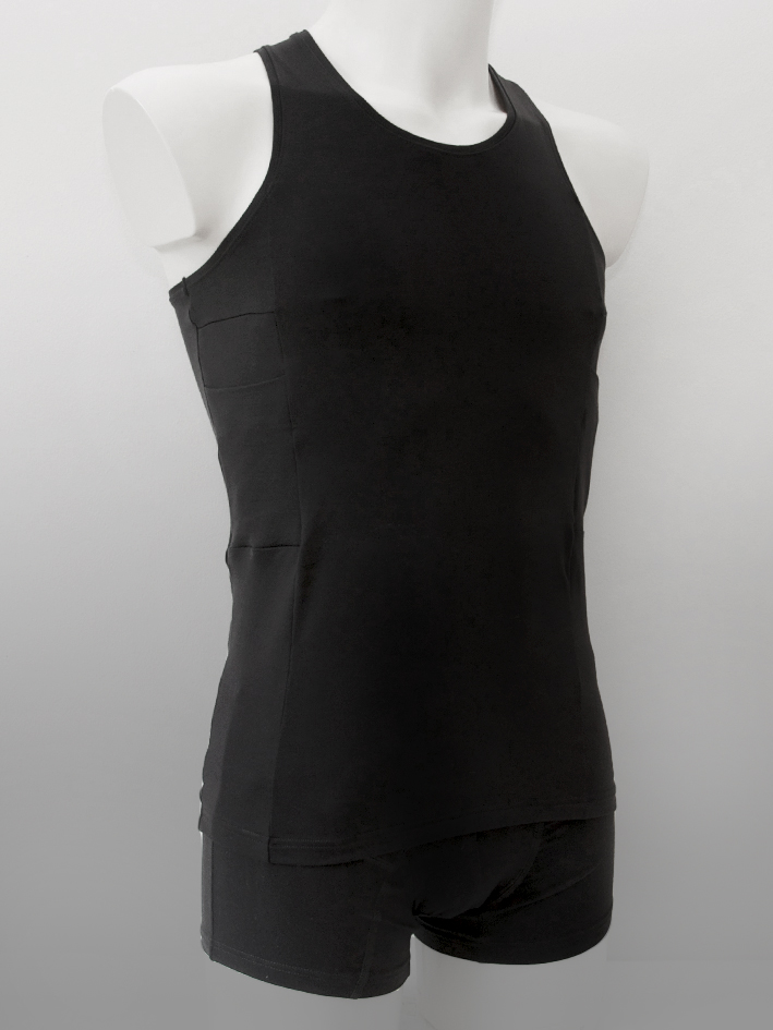 Accu-Chek Men Tank Top Black