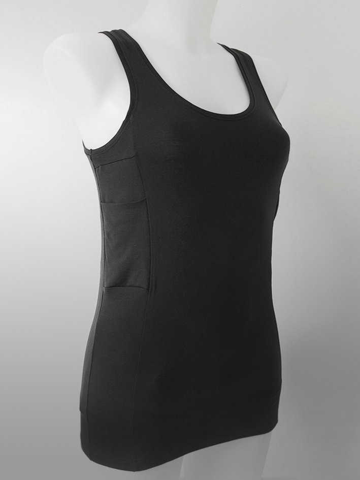 Accu-Chek Women Tank Top  Black