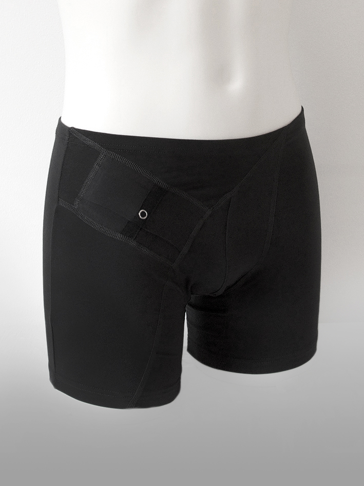 Boxer Shorts Long Black