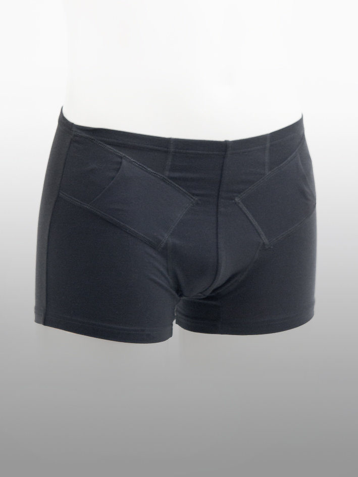Boxer Shorts Double Svart