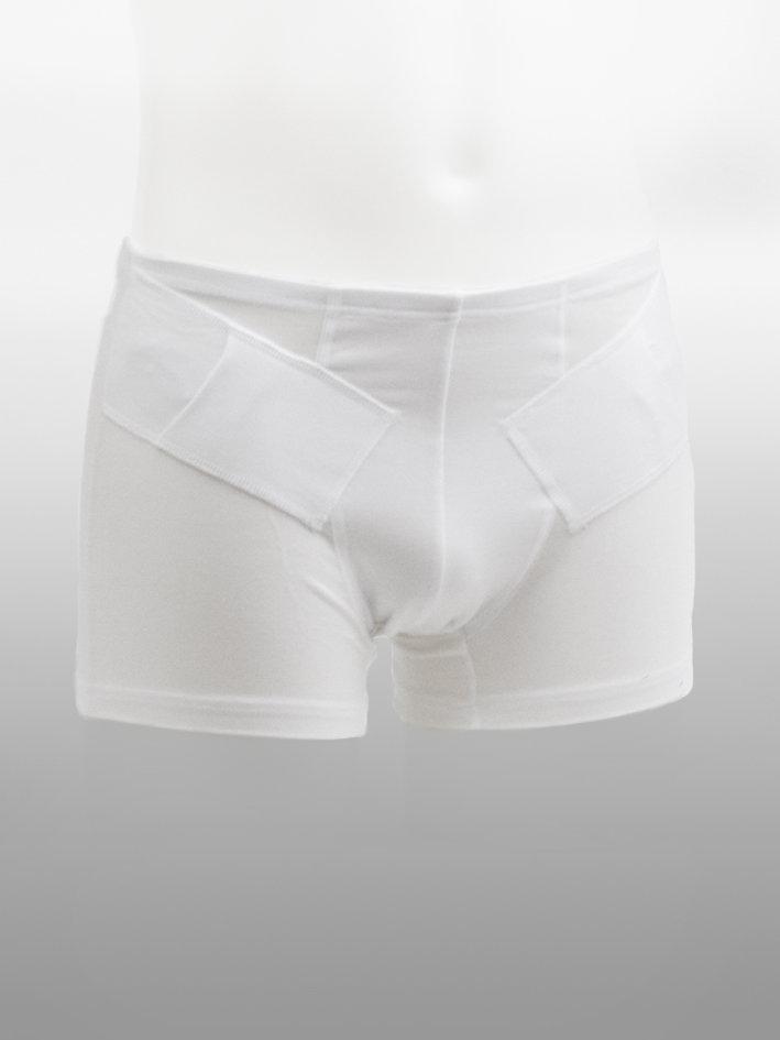 Boxer Shorts Doppelt Weiß