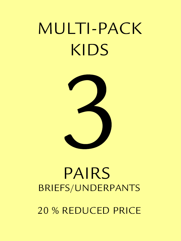 Kids 3 Pack Shorts/Briefs