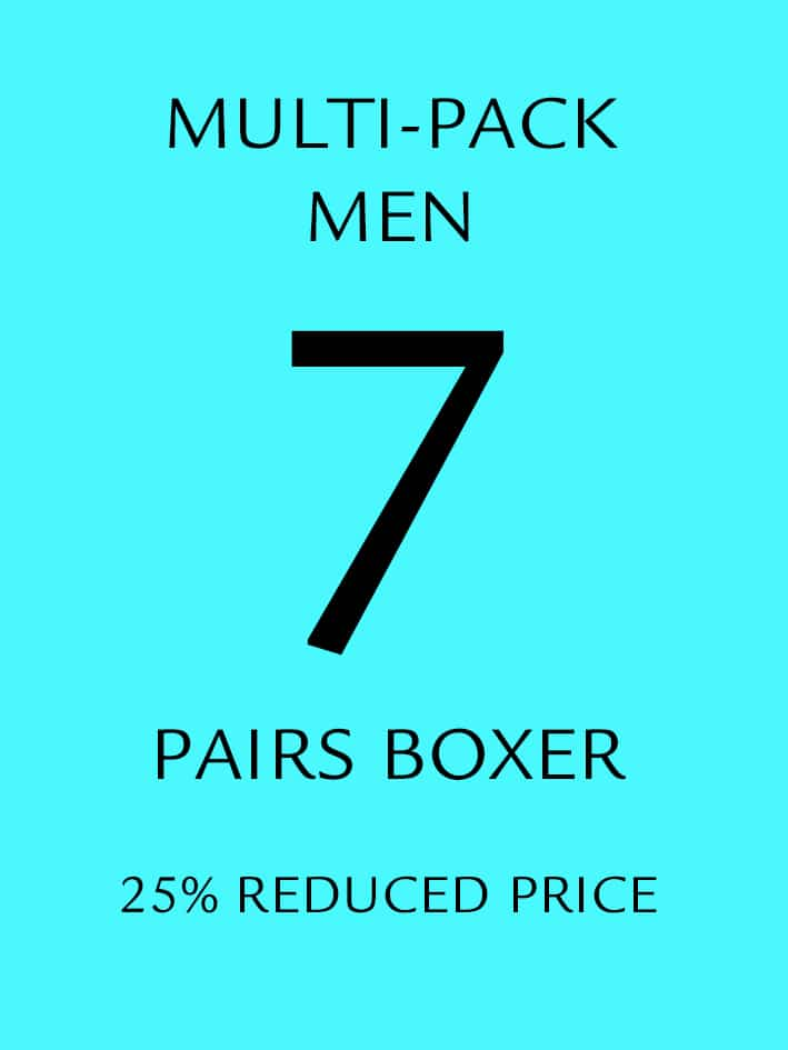7 Pack Boxer Shorts