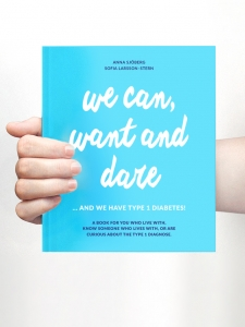 Inspiring and motivational book about people with diabetes