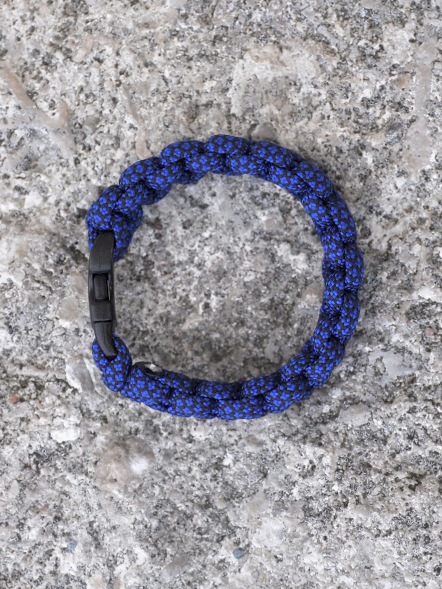 Paracord Blue-black