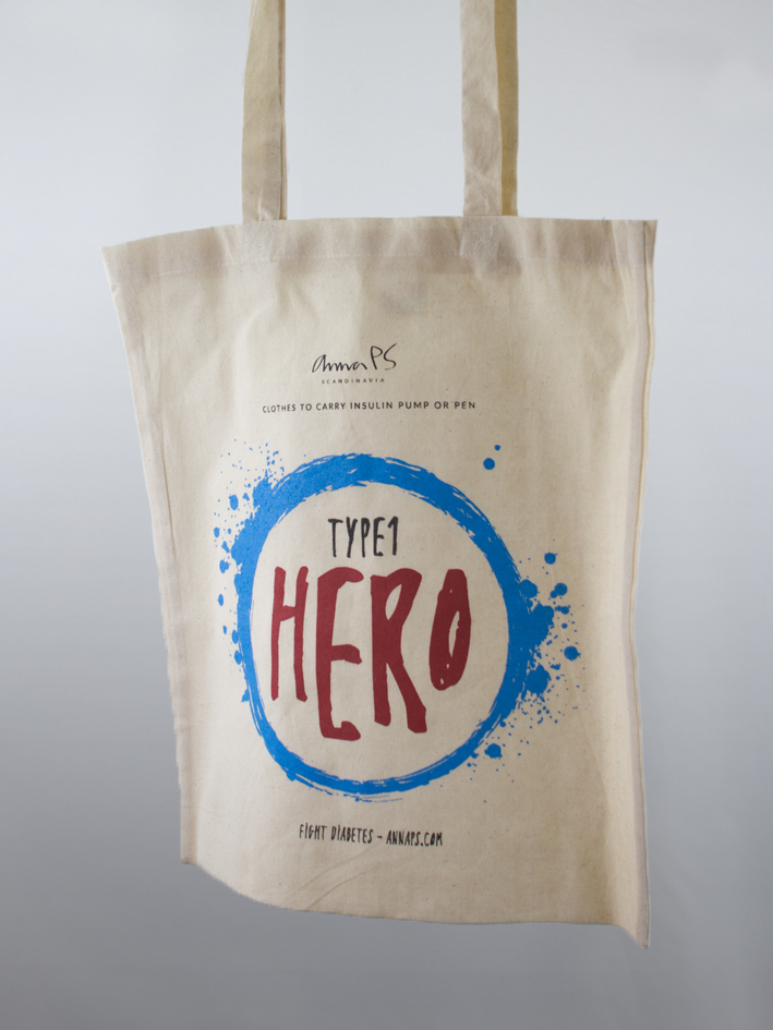 Type1 Hero - canvas bag