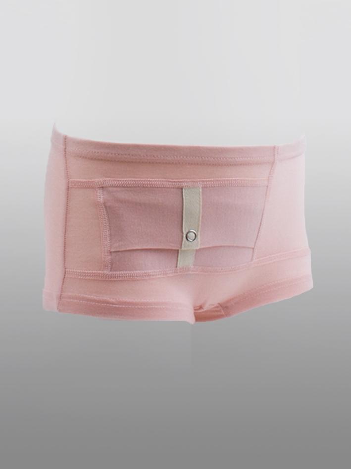 Kids Unisex Briefs Pink
