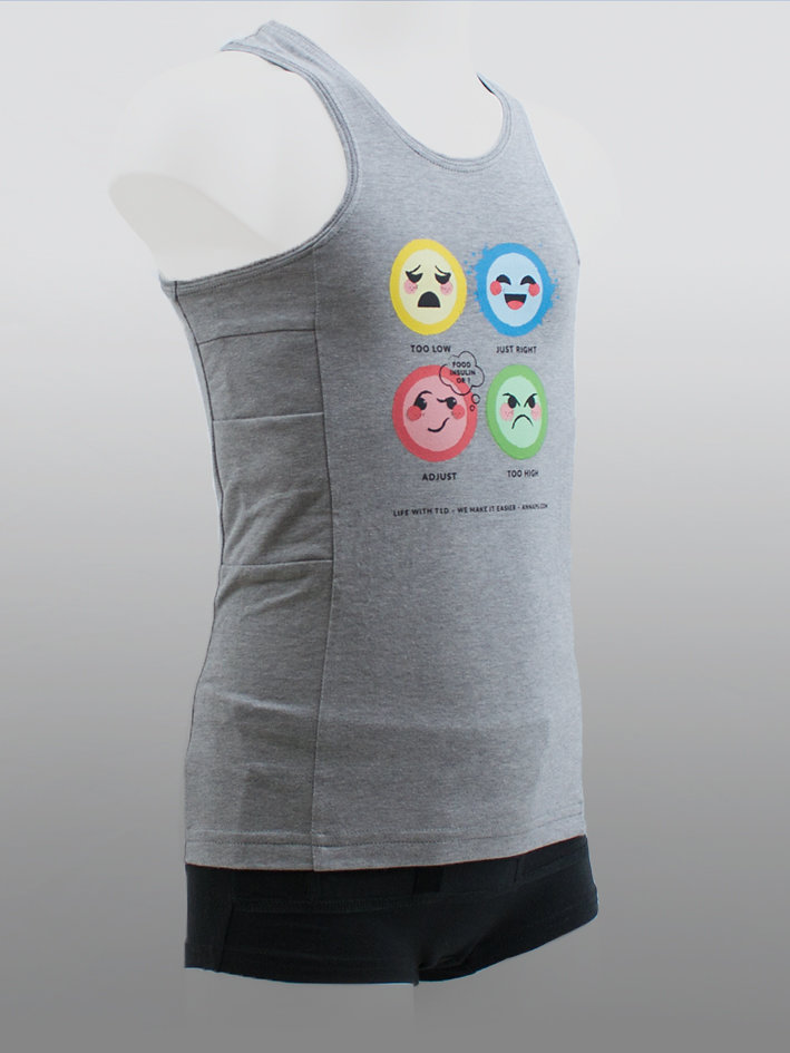 Kids Tank Top Life Grey