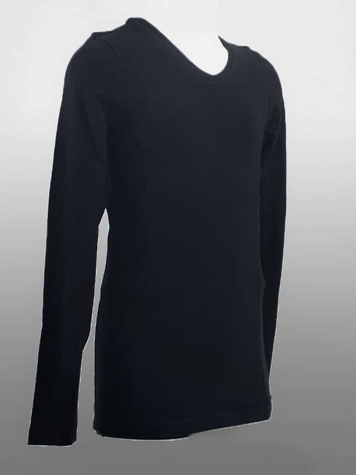 Kids Long Sleeve Top Black