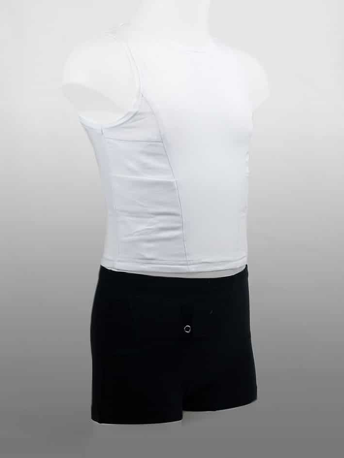 Kids Short Top White