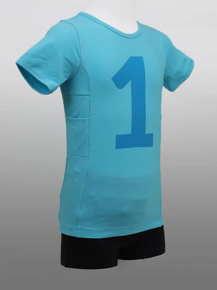 Kinder T-shirt No1 Blau