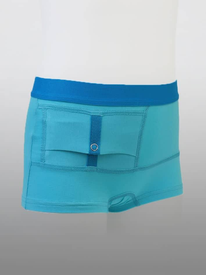 Kids Unisex Shorts Blue