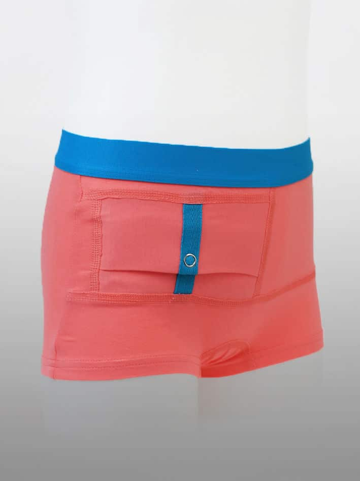 Kids Unisex Shorts Coral