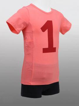 Kids T Shirt No1 Pink