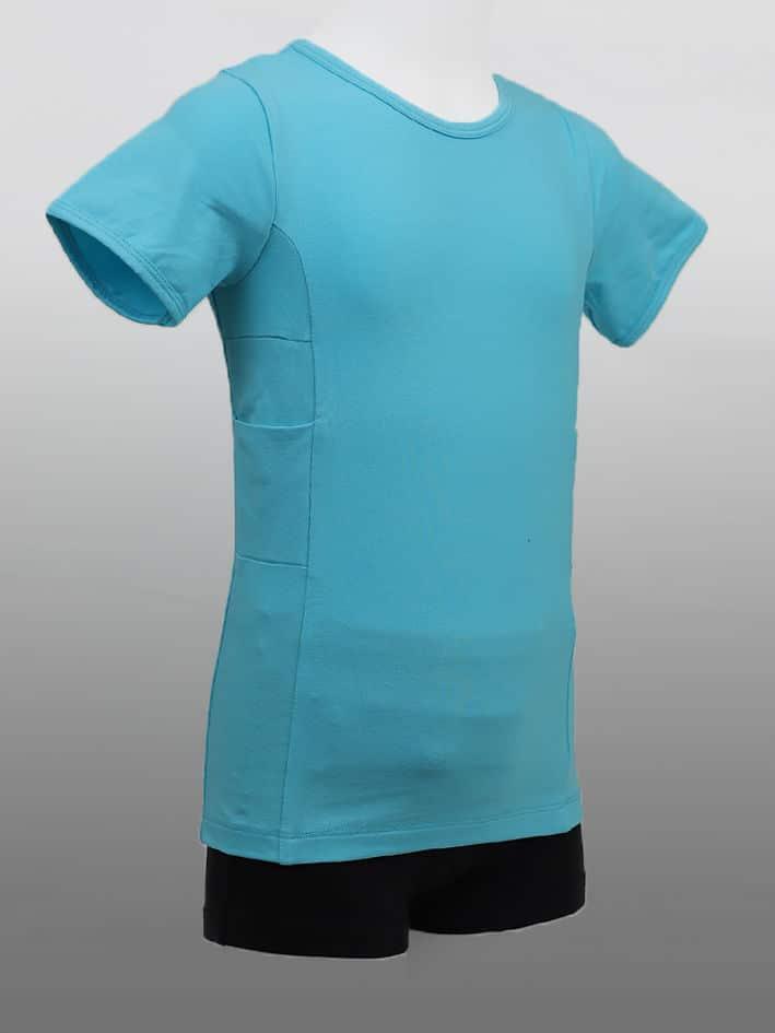 Barn T-shirt Blå